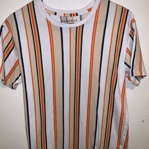 Short sleeve stripped shirt